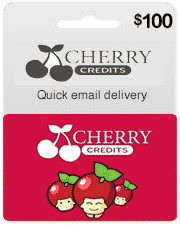 cherry credits card de 100
