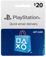 playstation card 20$