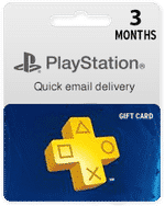 playstation card de 3 meses