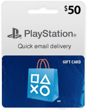 playstation card 50$